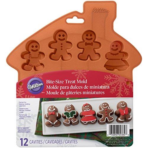 Wilton Gingerbread Boy Silicone Mold