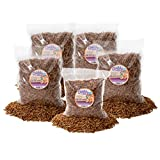 9lb Chubby Mix (Mealworm & Calci Worm Combo) for Wild Birds, Chickens etc.