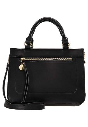 b8537571d212 Anna Field Sac à main pour femmes avec poignée - Sac à bandoulière amovible  tendance en noir  Amazon.fr  Vêtements et accessoires