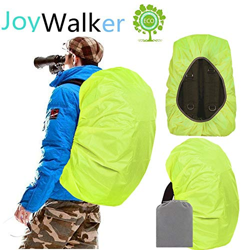 Joy Walker Waterproof Backpack Rain Cover for (15-90L) (Light Green, Small (for 15-30L Backpack))