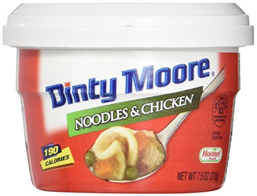 DINTY MOORE Noodles & Chicken, 7.5 Ounce (Pack of 12) (Best Beef Stew With Dumplings)