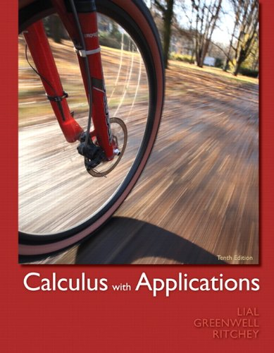 Calculus W/Applications