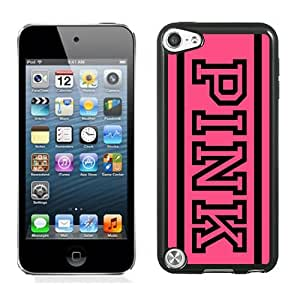 Hot Sale iPod Touch 5 Case ,Unique And Lovely Designed With Victoria's Secret Love Pink 43 in Black iPod Touch 5 Cover