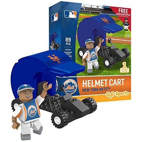 OYO Sports MLB New York Mets Sports Fan Bobble Head Toy Figures, Orange/Blue, One -