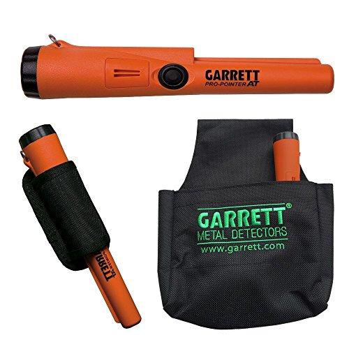Garrett Waterproof Metal Detector with Black Treasure Pouch