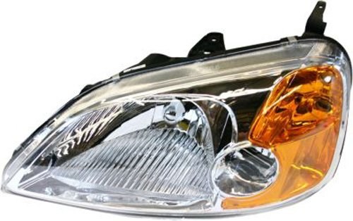 Depo 317-1126L-UF Headlight Assembly (HONDA CIVIC COUPE 01-03 DRIVER SIDE NSF) Driver Side Headlight Assembly Coupe