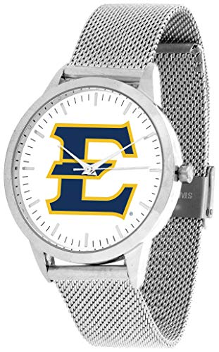 East Tennessee State Buccaneers - Mesh Statement Watch - Silver Band