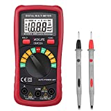 Tacklife DM02A Digital Multimeter Auto-Ranging Multi Tester with Non Contact Voltage Test Volt Amp Ohm Meter with Diode and Continuity Test