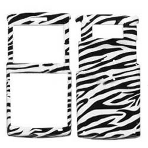 I325 Skin (Hard Plastic Snap on Cover Fits Samsung I325 Ace Zebra)