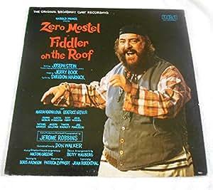 Jerry Bock Original Broadway Cast Zero Mostel Fiddler