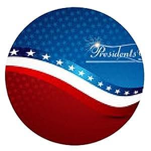 alfombrilla de ratón Beautiful Day Presidente de los Estados Unidos de América con estilo - ronda - 20cm