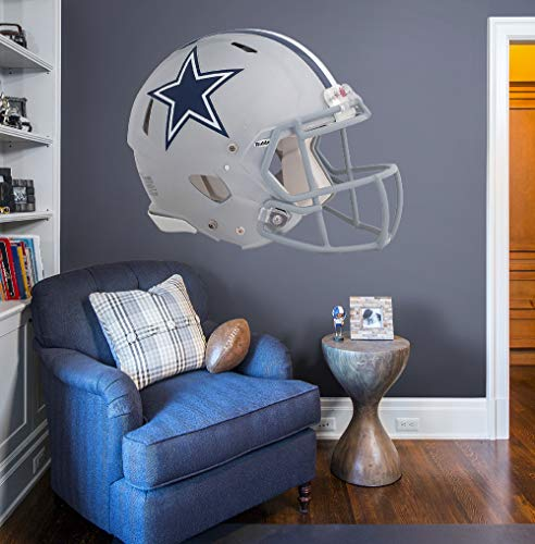 Fathead NFL Dallas Cowboys Dallas Cowboys: Helmet - Giant Officially Licensed NFL Removable Wall - Fathead Helmet