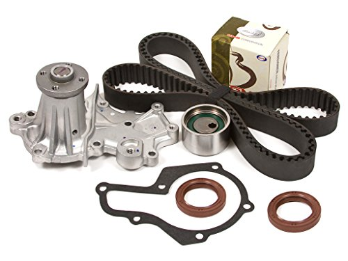 Evergreen TBK212WPT Fits Suzuki Chevrolet Geo 1.6L G16B SOHC Timing Belt Kit Water Pump