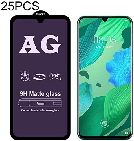 ZHANGYUNSHENG 25 PCS AG Matte Anti Blue Light Full Cover Tempered Glass for Huawei P30 Lite zys