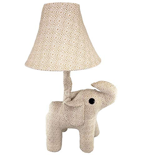 Fifth + Nest Kids Nursery Lamp - Plush Animal Table Top Lamps for Bedrooms - Cute Bedroom Decor for Baby, Toddler and Children's ()