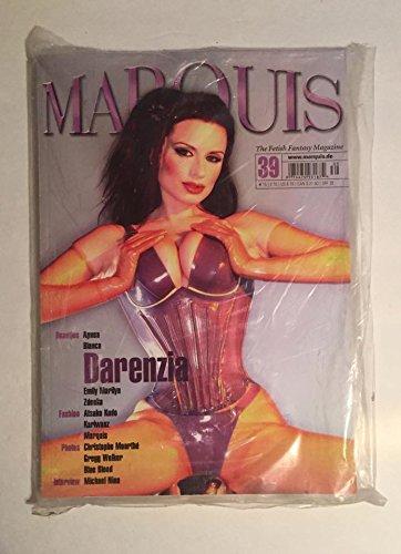 2007 Marquis Magazine #39 with Darenzia Emily Marilyn Zdenka Blue Blood SEALED IN PLASTIC BRAND NEW by Peter W. Czernich pdf