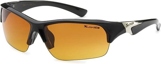 Blk X12 Discounted XLoop Mens Womens Sports Sunglasses
