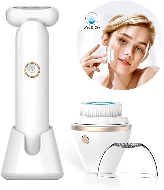 Afeitadora eléctrica de afeitar, removedor de vello corporal de ...