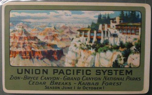 1930 Union Pacific System - Pocket Card Calendar