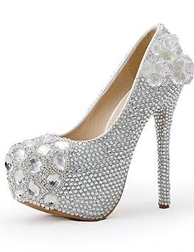 38481e50 ZQ Zapatos de boda-Tacones-Tacones-Boda / Vestido / Fiesta y Noche ...