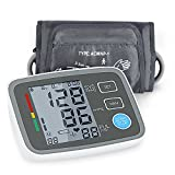Digital Blood Pressure Monitor Arm Automatic Blood Pressure Cuff Machine with One Size Fits All Cuff, Easy to Read and Calculation Accuracy - FDA Approved