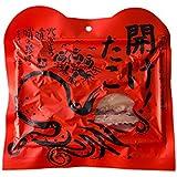 干し蛸 60g(開け!たこ) 北海道のたこでタコの珍味をつくりました 北海道産蛸の絶品珍味 北海道産たこ使用の食べやすいスライスタイプの干したこ