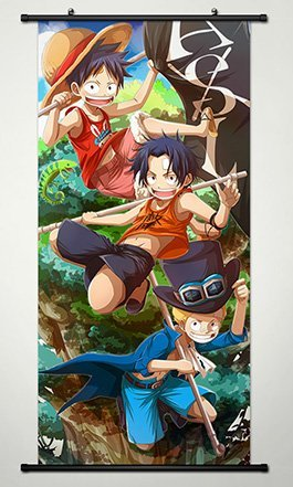 One Piece Wall Scroll Poster Fabric Painting For Anime Monke