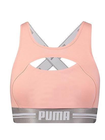 83d54f73cf9 PUMA Peekaboo Bralette US at Amazon Women s Clothing store
