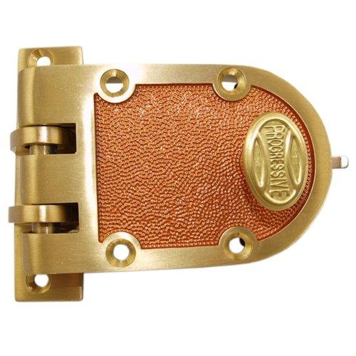 Bronze US10 Grade 1 Single Cylinder Jimmy Proof Deadlock Deadbolt Lock Set - Progressive 1776-10