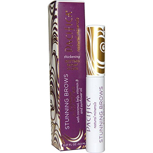 Pacifica, Stunning Brows, Eyebrow Gloss And Set, Clear, 0.27 fl oz (8.0 ml) - 3PC by Pacifica