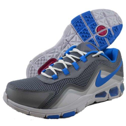 Nike - Zapatillas para hombre Weiß-Grau--Hellblau 46