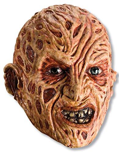 [Nightmare On Elm Street Foam Latex Mask, Freddy] (Women Freddy Krueger Costumes)