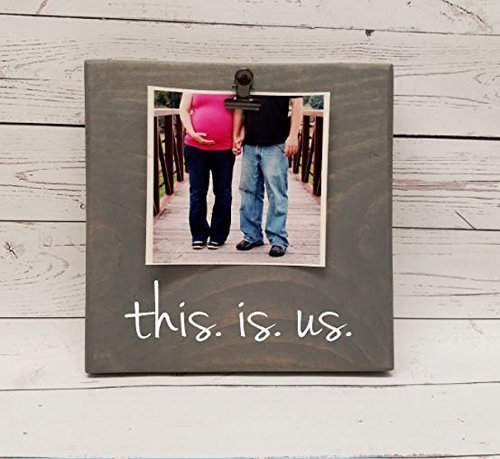 Amazon.com: this is us Picture Frame gift! Valentines love photo ...