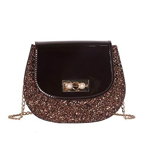 (Women's Chic Crossbody Bag Designer Quilted Crossbody Bags Twist Lock Shoulder Bags Satchel Handbags Chain Strap)