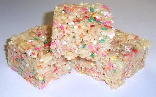 rice krispies treats rainbow - 7