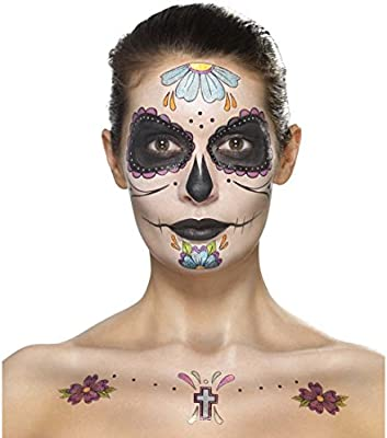 NET TOYS Maquillaje Sugar Skull Pinturas Día de los Muertos Varias ...