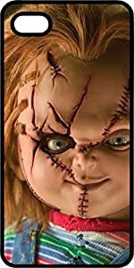 Chucky The Terror Doll Black Plastic Case for Apple iPhone 5 or iPhone 5s