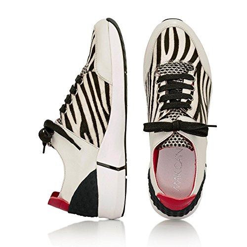 Marc Cain Sneaker Weiß/Schwarz