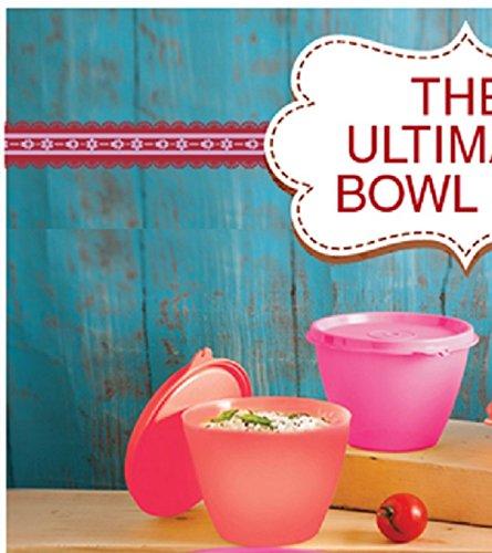 Tupperware Bowled Over Plastic Bowl Set, 450ml, Multicolour