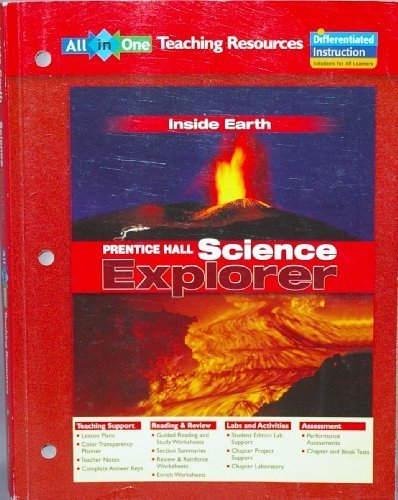 All In One TEACHING RESOURCES Inside Earth Prentice Hall