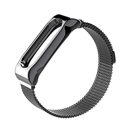 GUYO Miband 2 Strap Replacement Strap Wristband WatchBand Accessories for  Xiaomi Mi Band 2