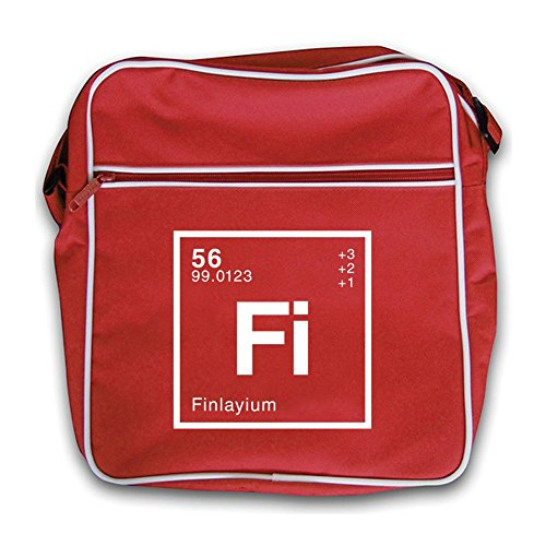Periodic Red Finlay Retro Element Flight Bag Dressdown gwASA
