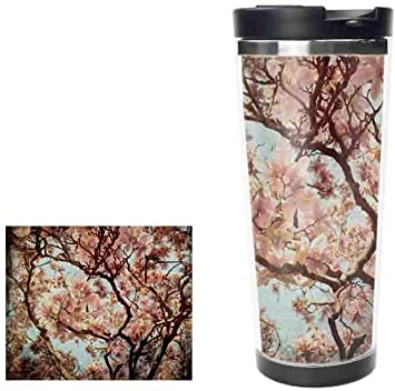 Amazon Com Magnolia Tree Blooming Stainless Steel Thermos Water