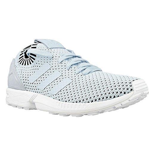 Adidas Zx Flux Primeknit Donna Sneaker Blu Hellblau