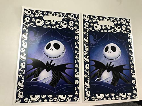 Jack Skellington Loot Goody Goodie Gift Bag, 6.5