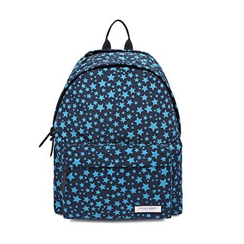 MUFUBU Presents KAKA Stylish Waterproof Colorful Backpack for Female Teenage Girls, Women - Black