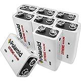 Polaroid Extreme 9 Volt Alkaline Batteries (8-Pack)