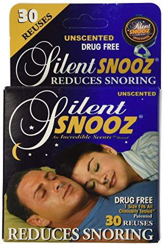 Incredible Silent Snooz Snore Relief - Unscented (30 Reuses)