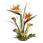 Bird-of-Paradise-Calla-Lily-Silk-Flower-Centerpiece