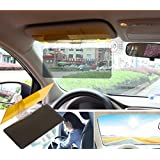 Eximtrade Car Sun Visor Sunlight UV-Ray Day and Night Anti-Glare Eye Protector